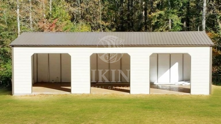 24x35x12 Steel Garage Building