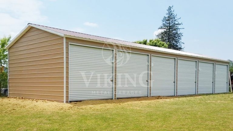 24x60x9 Fully Enclosed Commercial Metal Building