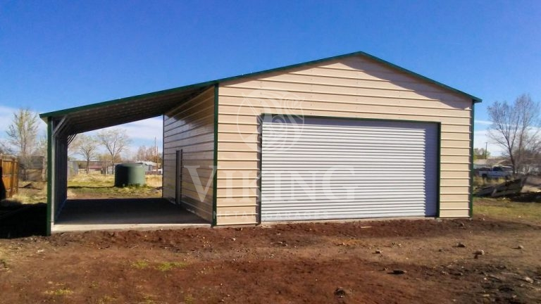 26x31x11-metal-garage-with-lean-to