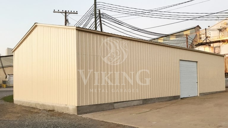 30x40x10 All Vertical Commercial Garage