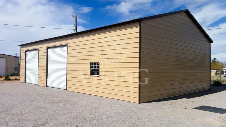 30x51x12 Metal Garage Workshop