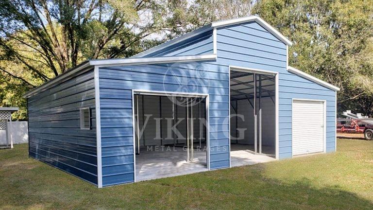 36x30x12 Carolina Metal Barn