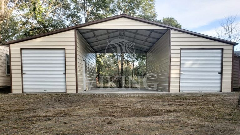 42x25x12 Vertical Roof Metal Barn