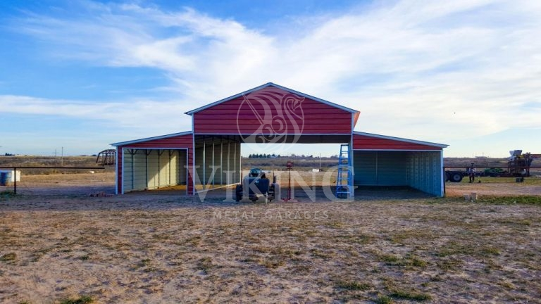 48x31x12 Agricultural Metal Barn