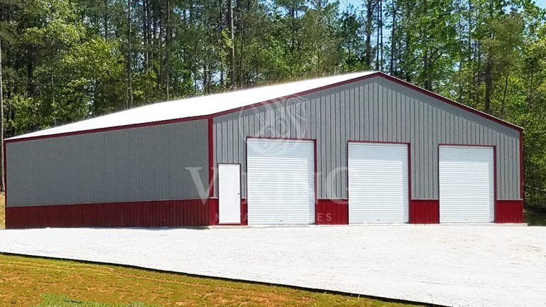50x48x14 All Vertical Two Tone Commercial Building