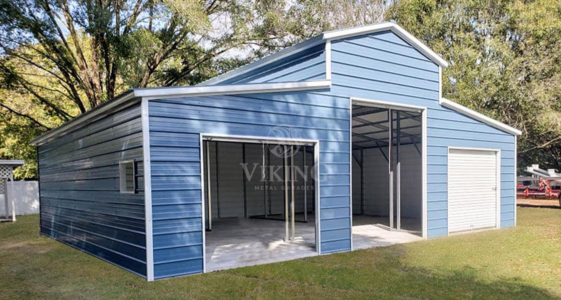 Metal Barn for Livestock Housing & Grains Storage