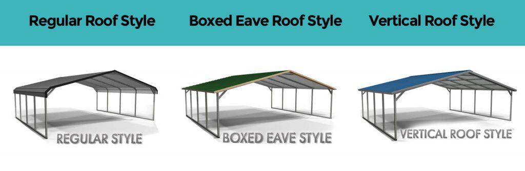 Metal Garage Roof Style