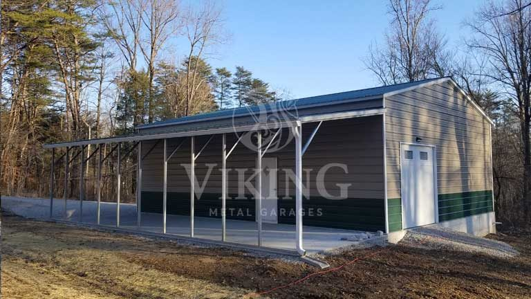 30 x 40 Fully Enclosed Metal Building