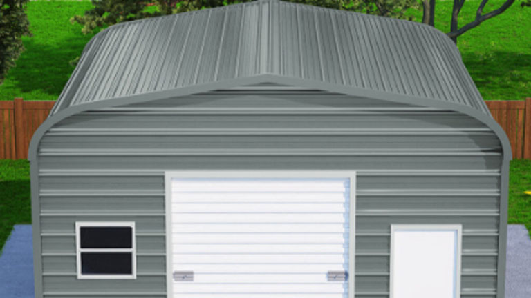 A-Frame Horizontal (Boxed Eave) Roof Style