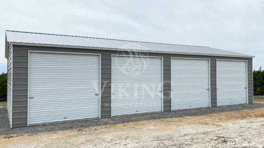 26'x40'x09 Prefab Side Entry Metal Garage