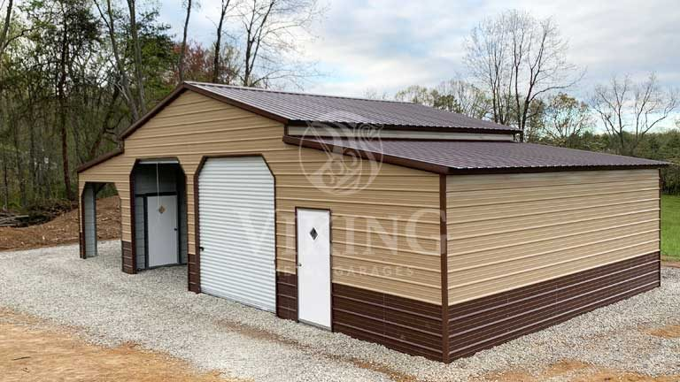 48x25x12 Metal Carolina Barn