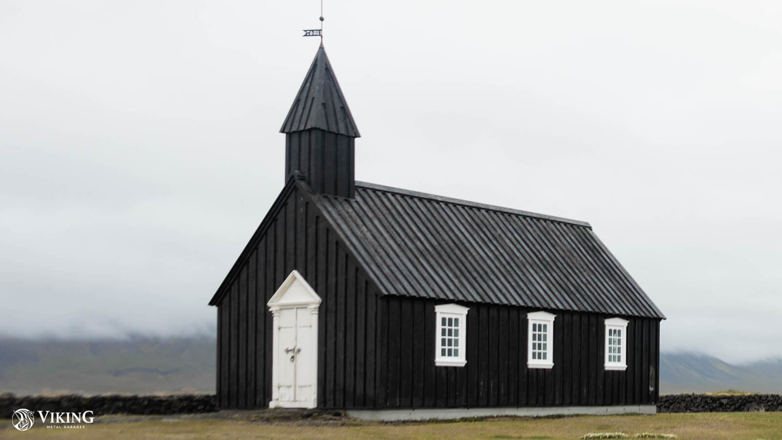 Metal Church Building