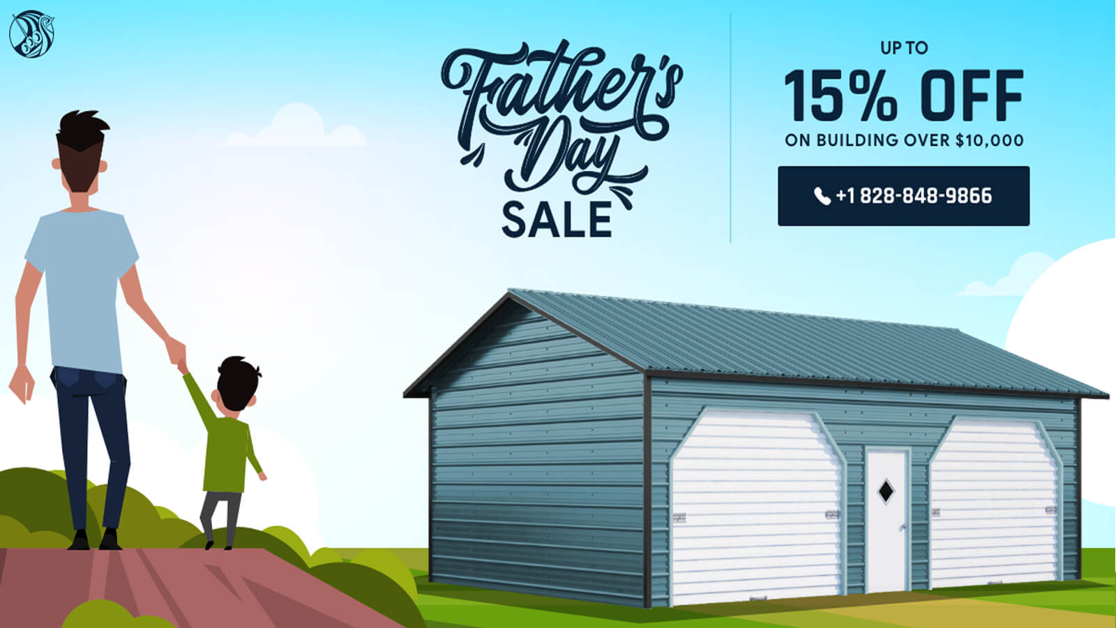 Viking Metal Garages Father's Day Sale 2020