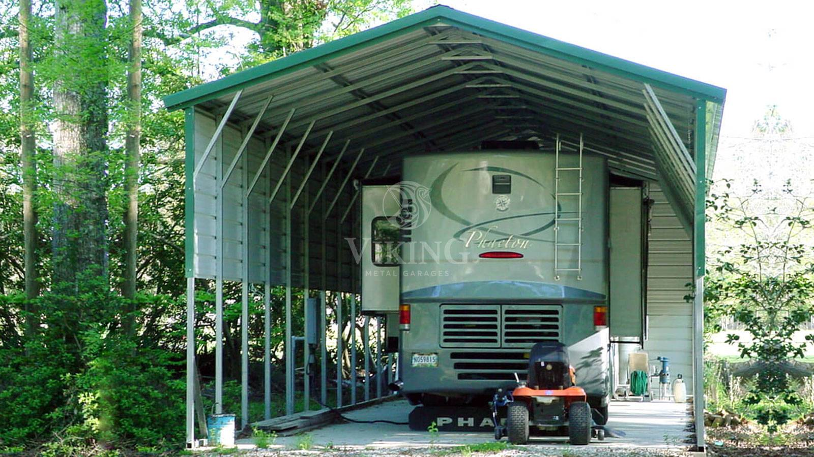 Metal RV Garages: Perfect Protection for Your Motorhome
