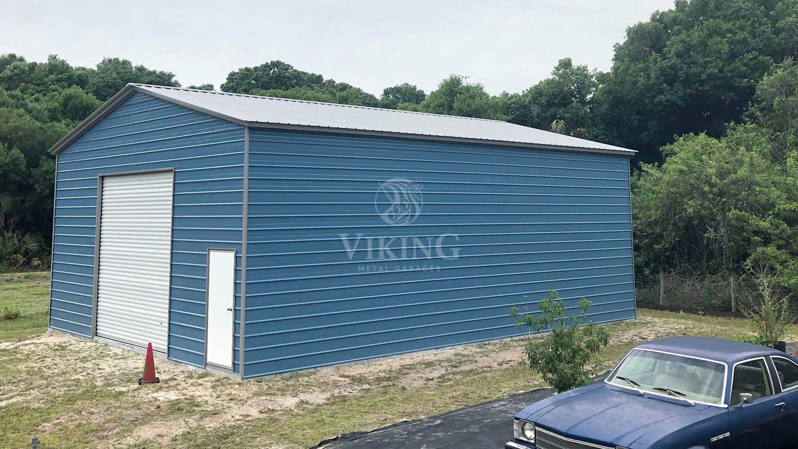Prefabricated Metal Garages Delivery