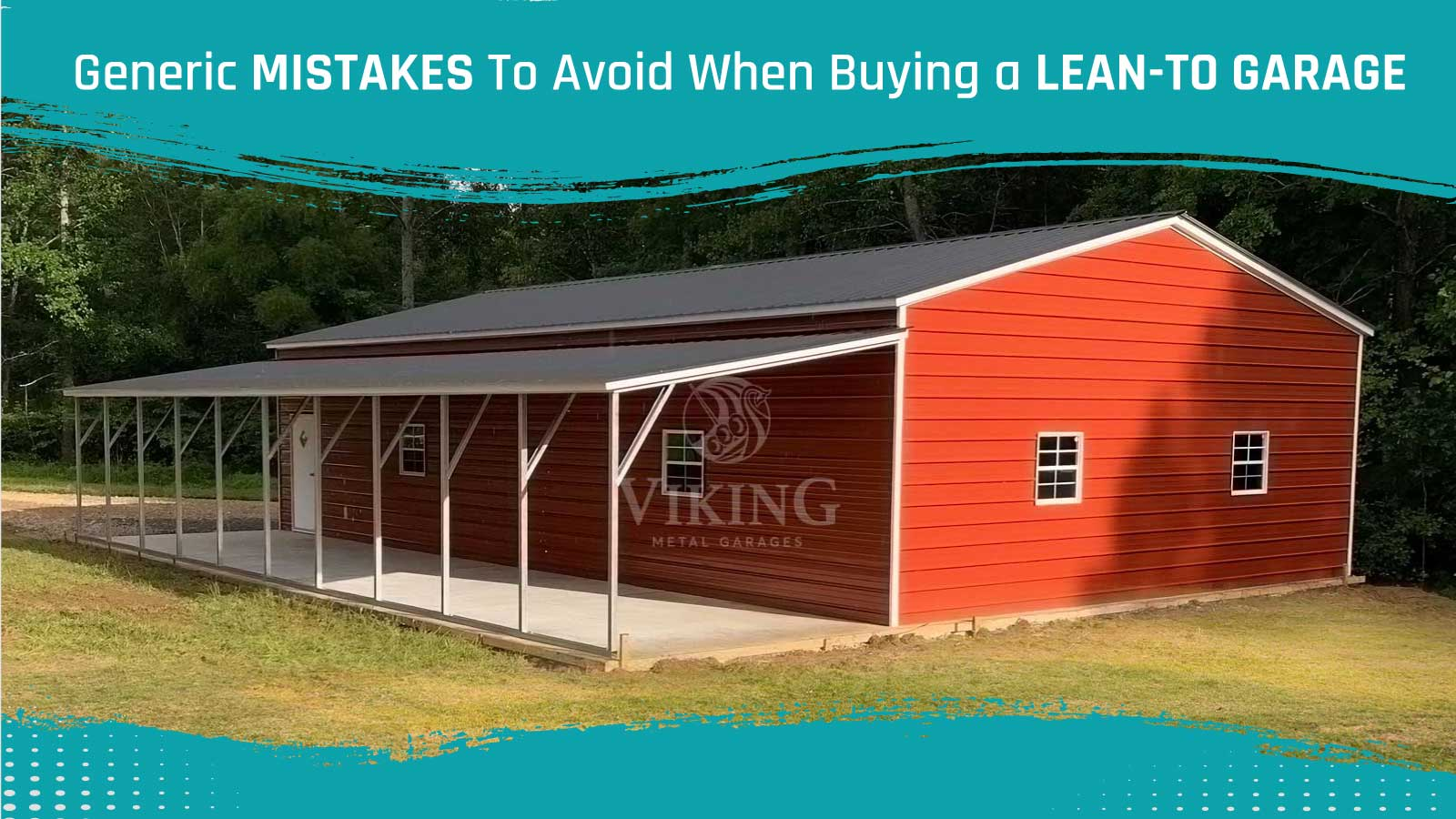 Generic Mistakes To Avoid When Buying a Lean-to Garage
