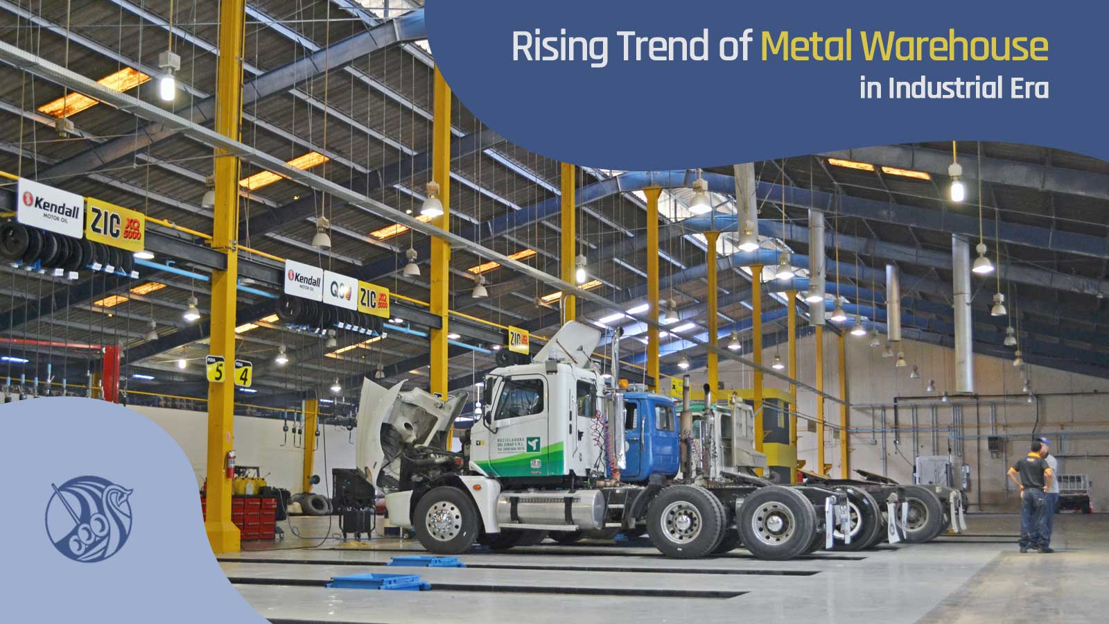 Rising Trend of Metal Warehouse in Industrial Era