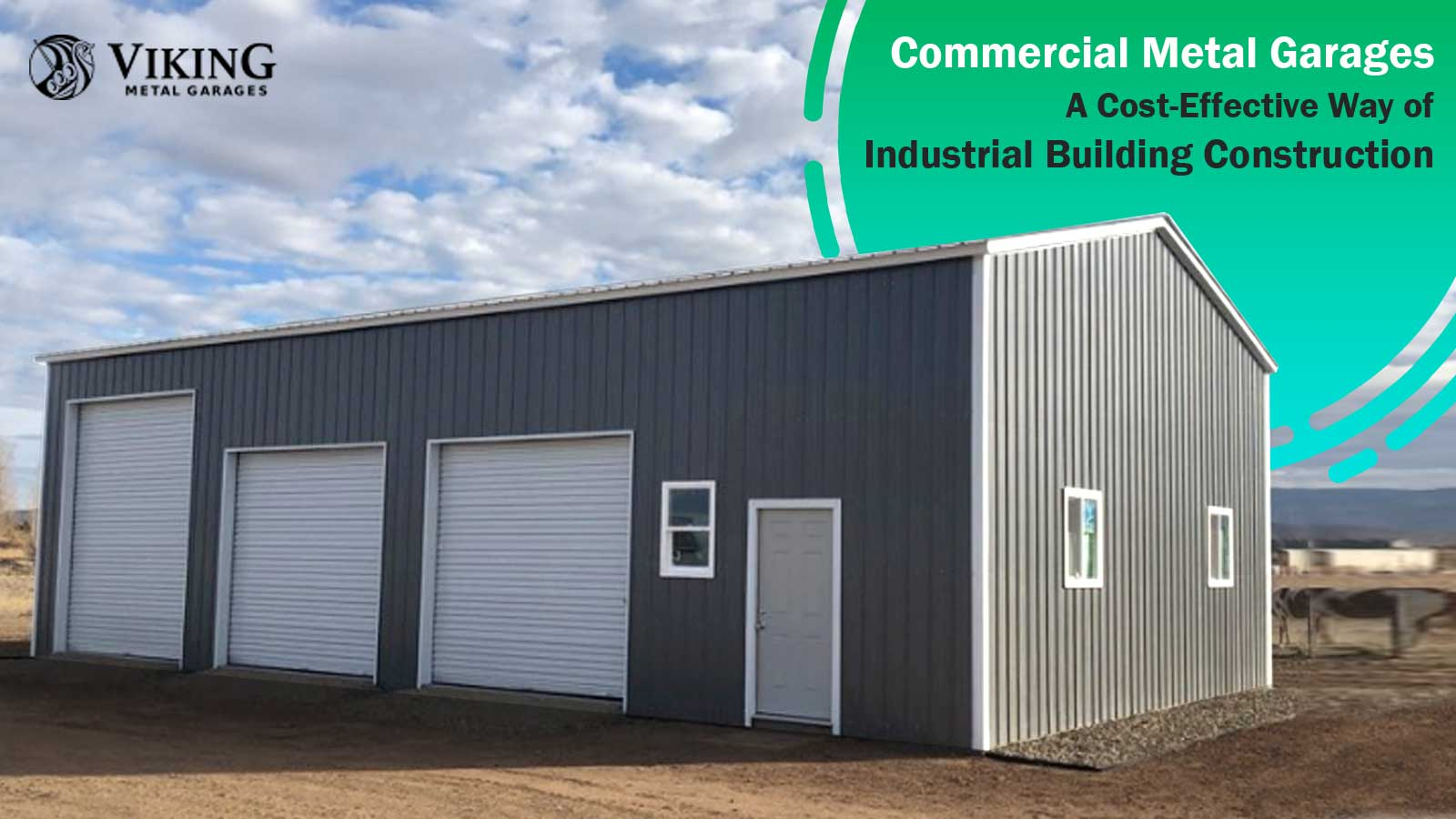 Commercial Metal Garages: A Cost-Effective Way of Industrial Building Construction
